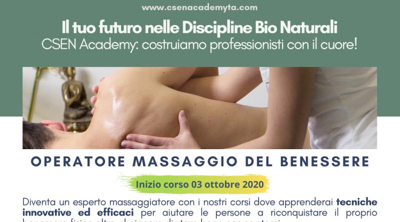 Operatore Massaggio del Benessere