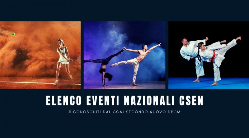 Eventi nazionali CSEN